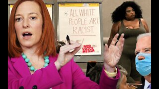 Biden SUPPORTS Indoctrinating Children with Critical Race Theory - Jen Psaki
