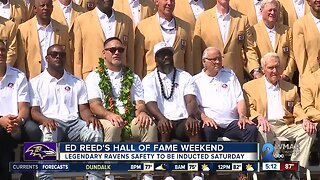 Ed Reed's Hall of Fame weekend