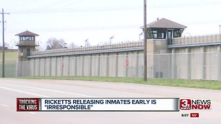 Ricketts: Releasing Inmates Early is Irresponsible