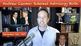 Andrew Cuomo: Sidereal Astrology Birth Chart