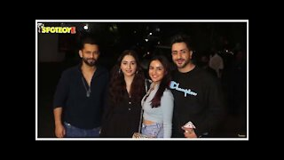 Aly Goni-Jasmin Bhasin with Rahul Vaidya & Disha Parmar spotted at a restaurant for dinner