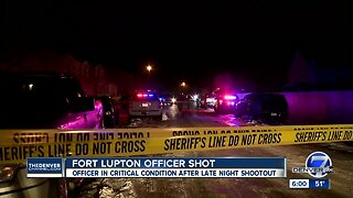 Fort Lupton officer, suspect both in critical condition after shooting early Tuesday