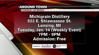 Around Town - Tuesday DJ Bingo at Michi-Grain Distillery