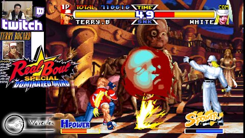 (PS) Real Bout Garou Densetsu Special - Dominated Mind - 01 - Terry Bogard - test run - Lv Normal