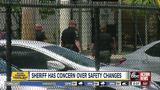 Pinellas sheriff has concerns over safety changes