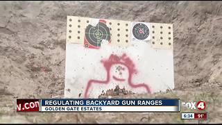 Stray bullet hits house, raises questions about backyard gun range safety