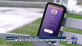 E-Bodyguard app helps protect people from sexual assault