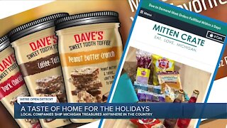 Gift-givers sending a 'taste of Michigan' to family and friends amid pandemic