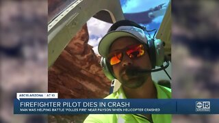 Firefighter pilot dies in helicopter crash near Payson