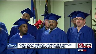 Open Door Mission graduates 11 from their New Life Recovery Program