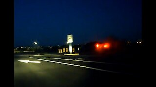 Car Crashes Into Sign At Full Speed, Nearly Flips - WorldDashcam - Dashcam clip of the day #43