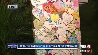 Special tributes to Parkland victims at vigil