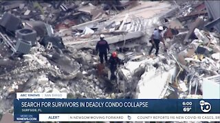 Search for survivors in deadly collapse