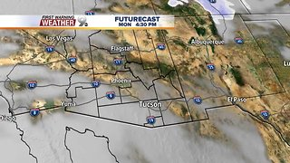 Temperatures climb heading into the weekend