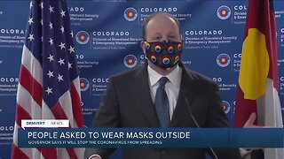"""Polis urges Coloradans to wear a cloth mask """"at all times"""" in public"""
