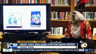 Chula Vista prepares for Drag Queen Storytime at city library