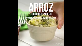Rice with Broccoli and Cheese