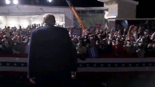 Trump leaves stage to YMCA