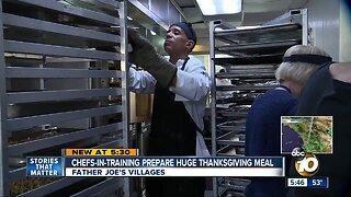 Father Joe's Villages serves turkey dinner