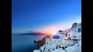 Santorini, Greece delivers jaw-dropping visuals
