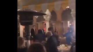 Trump and Family Receive Standing Ovation