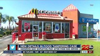 New details in food tampering case