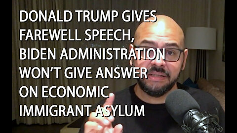 Latino Conservative Ep. 52 Trump Gives Farewell