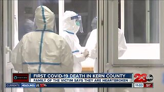 First COVID-19 outbreak death in Kern County