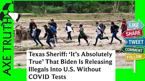 Biden Is Releasing Illegals Into U.S. Without COVID Tests
