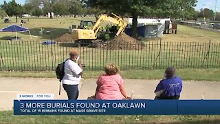 Three additional burials discovered in 1921 mass graves investigation