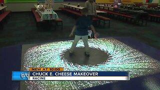 Chuck E. Cheese received a makeover in Racine
