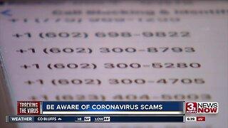Be aware of coronavirus scams