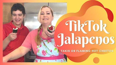 TikTok Stuffed Jalapenos