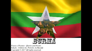 Bandeiras e fotos dos países do mundo: Burma [Frases e Poemas]
