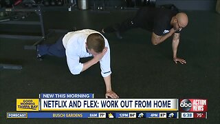 How to workout while watching Netflix