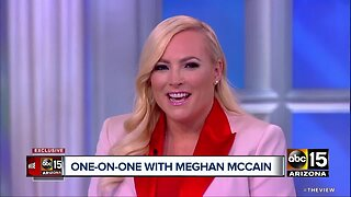 One-on-one with Meghan McCain Part II