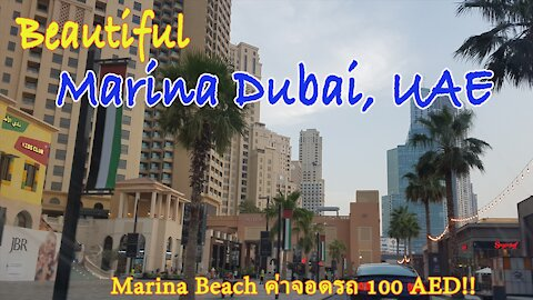 Beautiful Marina Dubai, UAE