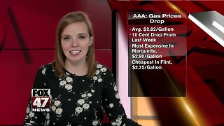 AAA Michigan: Statewide gas prices decline 10 cents