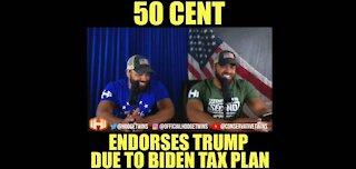 Hodge Twins: 50 Cent Endorses Trump