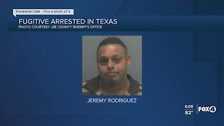 Lee County fugitive arrested in Texas