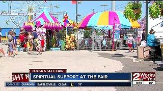 Spiritual support at the Tulsa State Fair