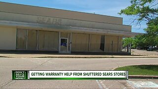 Getting warranty help from shuttered Sears stores