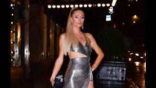Paris Hilton stays fashionable and safe
