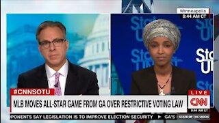 Ilhan Omar Endorses GA Boycott, Compares To Apartheid