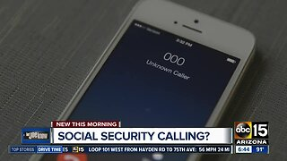 Social security scam targeting your cell phones and your wallet