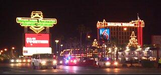 Critical crash closes Boulder Highway, Desert Inn