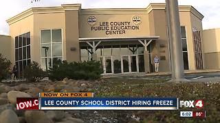 Lee County School District hiring freeze