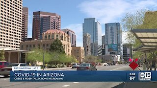 Cases of COVID-19 and hospitalizations increasing in Arizona