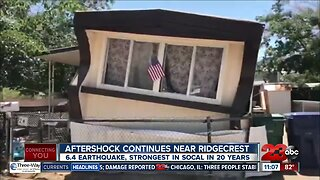 Aftershocks Continue Following Earthquake