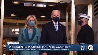 Moving forward under President Joe Biden